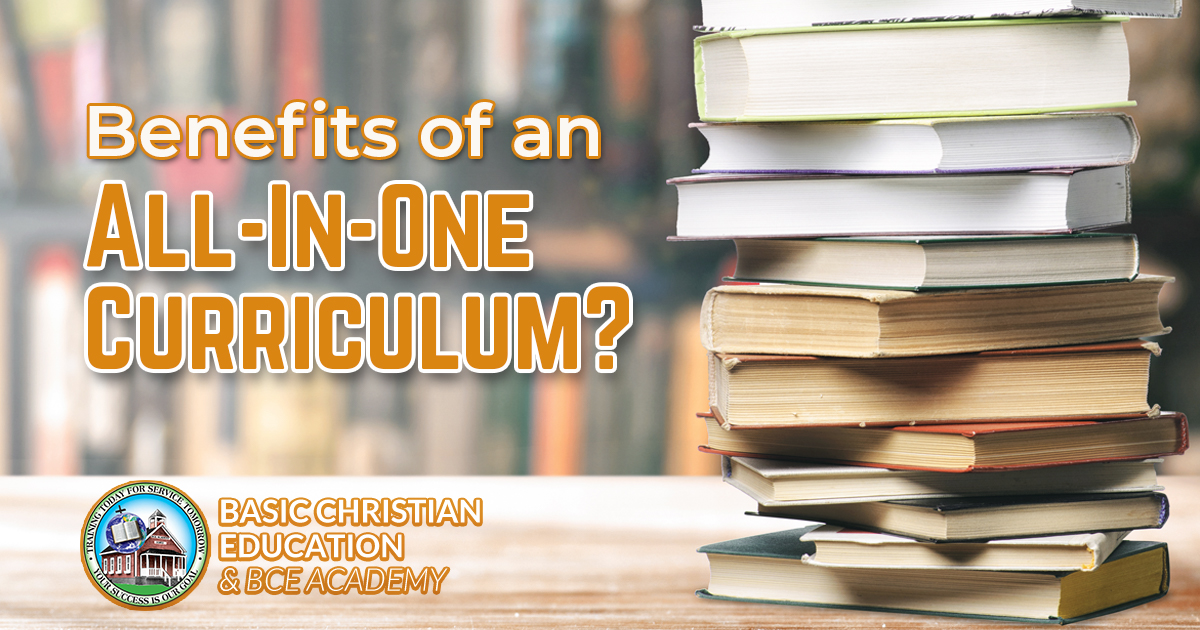 The Benefits of an All-in-One Homeschool Curriculum