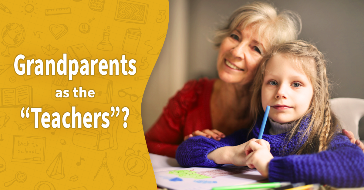 How Grandparents Help with Homeschooling