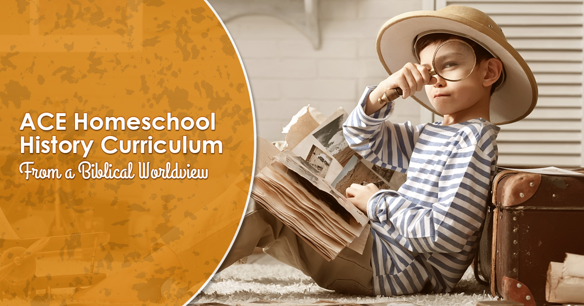Homeschool History Curriculum from a Biblical Worldview