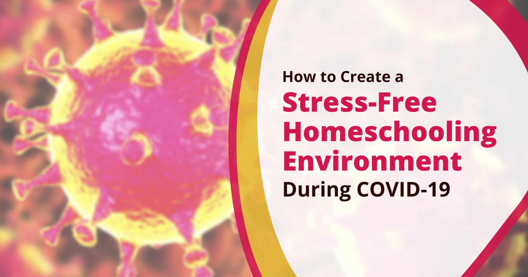 How to Create a Stress-Free Homeschool Experience During COVID-19