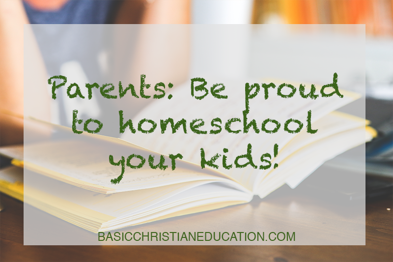 By the numbers: Why you can be proud to homeschool your kids
