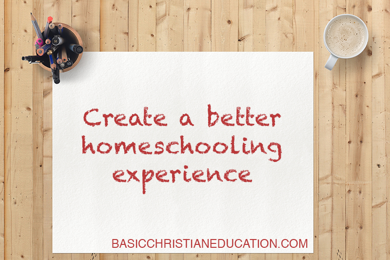 Tips for a better homeschooling experience